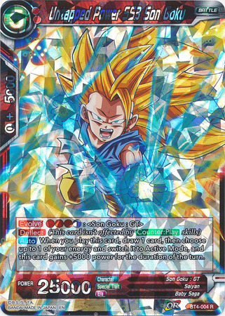 Untapped Power SS3 Son Goku (Shatterfoil)