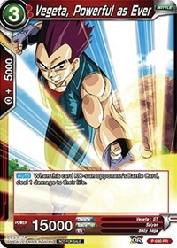 Vegeta, Powerful as Ever (Foil)