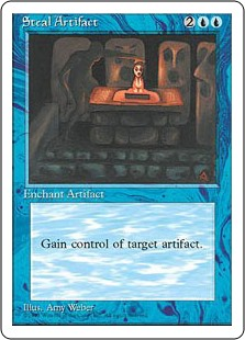 Robar artefacto - Steal Artifact (Borde Negro)(Portugués)