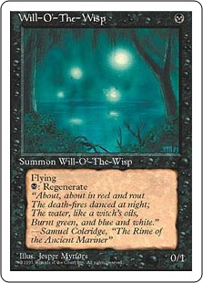Fuego fatuo - Will-o'-the-Wisp (Inglés)