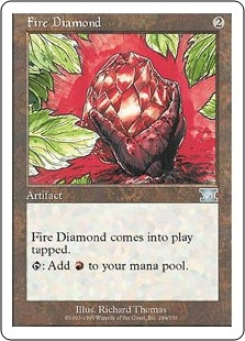Diamante flamígero - Fire Diamond (HP)