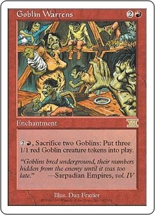 Barracones trasgos - Goblin Warrens