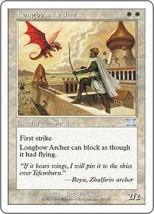 Tirador de arco largo - Longbow Archer (MP)