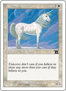 Unicornio magnífico - Regal Unicorn