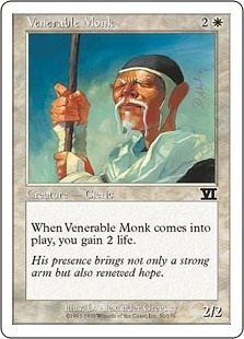 Monje venerable - Venerable Monk