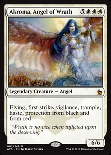 Akroma, ángel de ira - Akroma, Angel of Wrath (Foil)