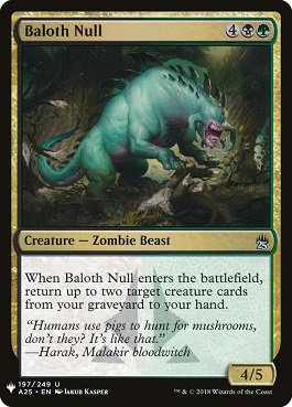 Nulo báloth - Baloth Null (Mystery Booster)