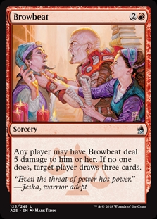 Amedrentar - Browbeat (Foil)