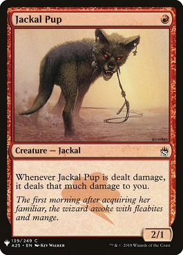Cachorro de chacal - Jackal Pup (Mystery Booster)