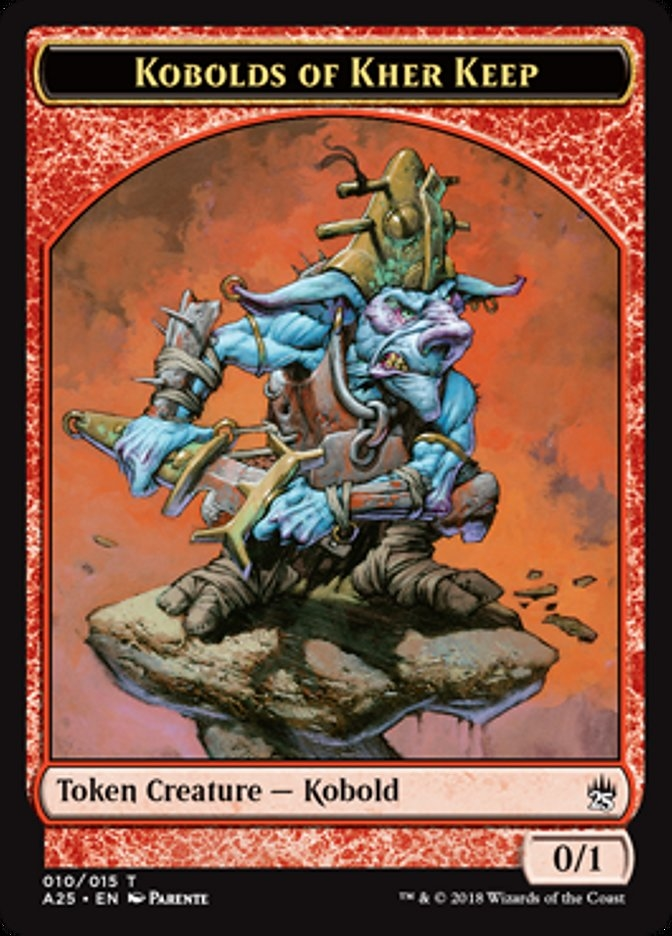 Ficha de Kóbolds de la Fortaleza Kher - Kobolds of Kher Keep Token