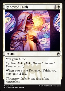 Fe renovada - Renewed Faith (Foil)