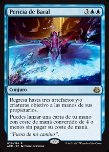 Pericia de Baral - Baral's Expertise (Foil)(Pre-Release)