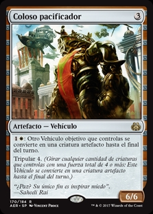Coloso pacificador - Peacewalker Colossus