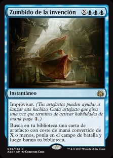 Zumbido de la invención - Whir of Invention