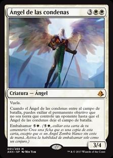 í�ngel de las condenas - Angel of Sanctions