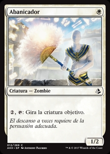 Abanicador - Fan Bearer (Foil)