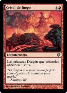 Crisol de fuego - Crucible of Fire (Foil)