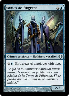 Sabios de filigrana - Filigree Sages