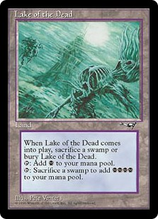 Lago de los difuntos - Lake of the Dead