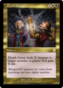 Apretón mortal - Death Grasp (Foil)