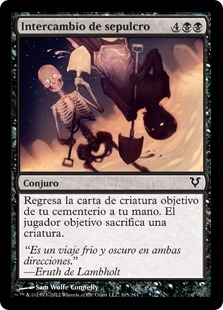 Intercambio de sepulcro - Grave Exchange