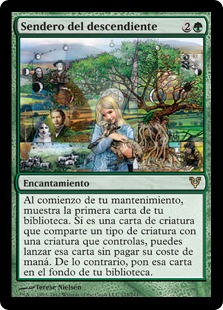 Sendero del descendiente - Descendants' Path