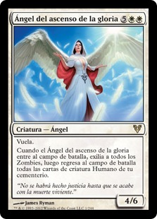 Angel del ascenso de la gloria - Angel of Glory's Rise