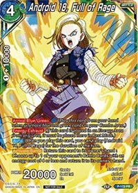 Android 18, Full of Rage (Foil)