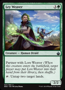 Ley Weaver (Launch)(Foil)