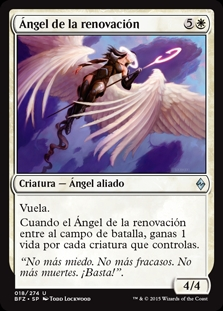 Ángel de la renovación - Angel of Renewal