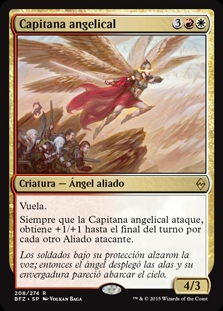 Capitana angelical - Angelic Captain