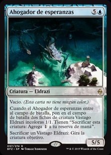 Ahogador de esperanzas - Drowner of Hope