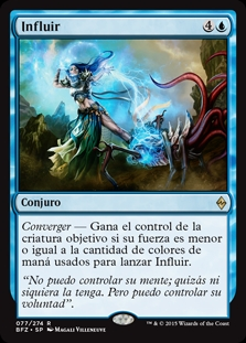 Influir - Exert Influence (Foil) (Pre-Release)