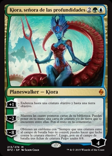 Kiora, señora de las profundidades - Kiora, Master of the Depths