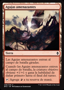 Agujas amenazantes - Looming Spires (Foil)