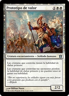 Prototipo de valor - Archetype of Courage