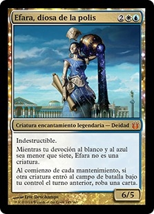 Efara, diosa de la polis - Ephara, God of the Polis (Foil)