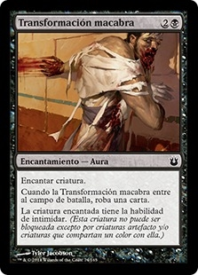 Transformación macabra - Grisly Transformation