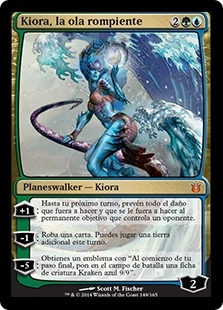 Kiora, la ola rompiente - Kiora, the Crashing Wave