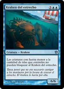 Kraken del estrecho - Kraken of the Straits