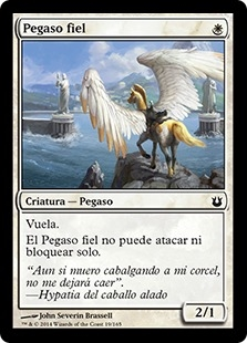 Pegaso fiel - Loyal Pegasus