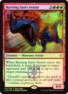 Avatar del Sol Ardiente - Burning Sun's Avatar (Buy a Box)