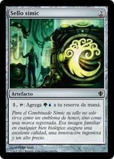 Sello simic - Simic Signet