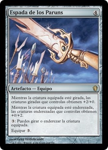 Espada de los Paruns - Sword of the Paruns