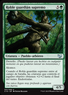 Roble guardián supremo - Great Oak Guardian