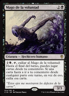 Mago de la voluntad - Magus of the Will