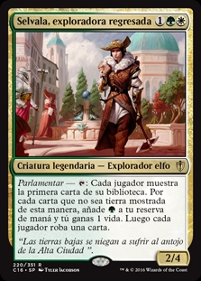 Selvala, exploradora regresada - Selvala, Explorer Returned