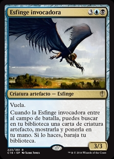 Esfinge invocadora - Sphinx Summoner