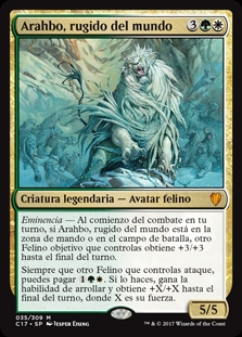 Arahbo, rugido del mundo - Arahbo, Roar of the World (Oversize-Foil)