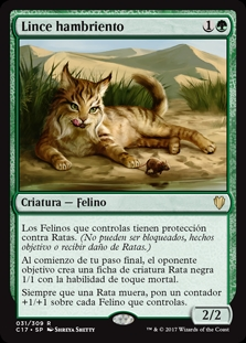 Lince hambriento - Hungry Lynx